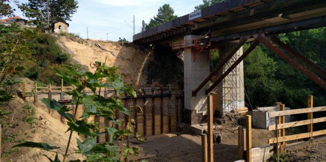 Brückenbau Nesselgrund